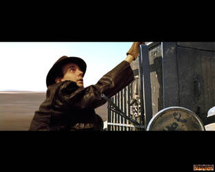 Raiders - Truck Chase 3 by Jedi-Knight-Art