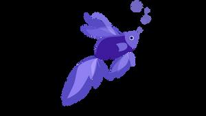 Fish Windows 8.1 (Windows Blue) - Transparent