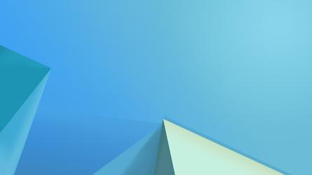 Default Wallpaper Build 9600 - Blue Version