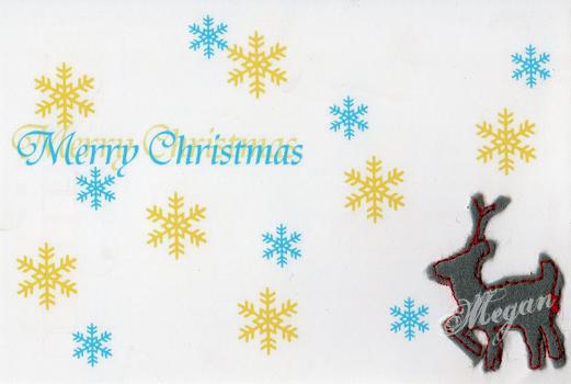 christmas card by PegMegan28