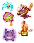 Ghost pokes