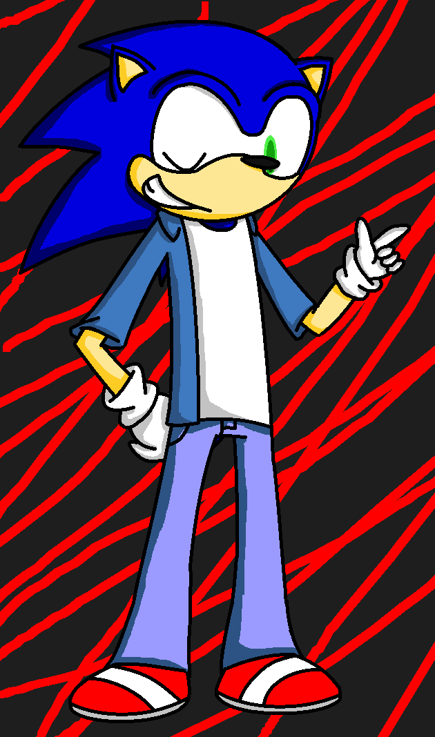 gasp sonic s wearing clothes by angiecreations on deviantart
