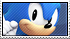 Clasic Sonic Stamp by abramoxd