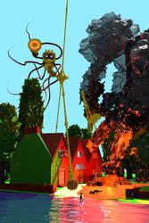 Inn at Byfleet by cybernetichero