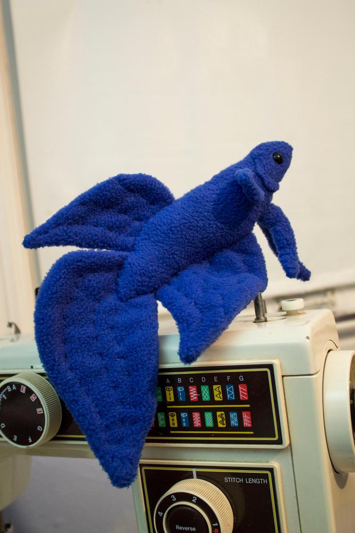 Royal blue betta fish by beezee art on deviantart for Betta fish toys