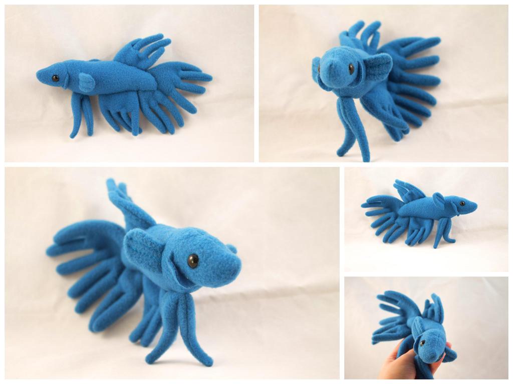 Crown tail betta fish by beezee art on deviantart for Betta fish toys