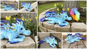 Dragonfish Dragon Plushie by BeeZee-Art