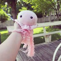 Pink Jellyfish by BeeZee-Art