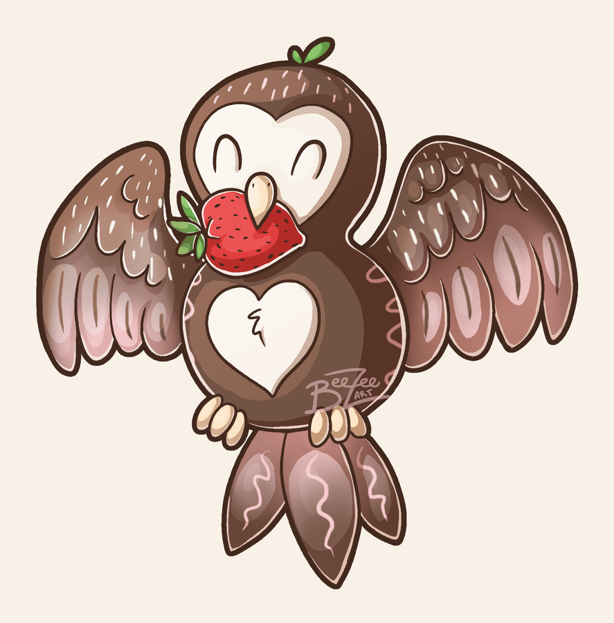 Chocolate Covered Owl by BeeZee-Art