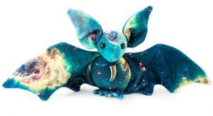 Galaxy Print Bat