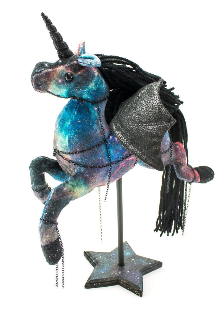 Nexus the Winged Galaxy Unicorn by BeeZee-Art