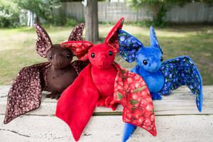 Fruit Bats by BeeZee-Art