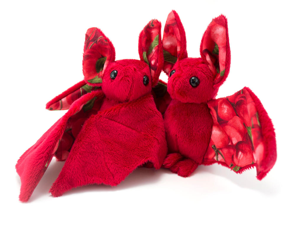 Cherry Fruit Bats by BeeZee-Art