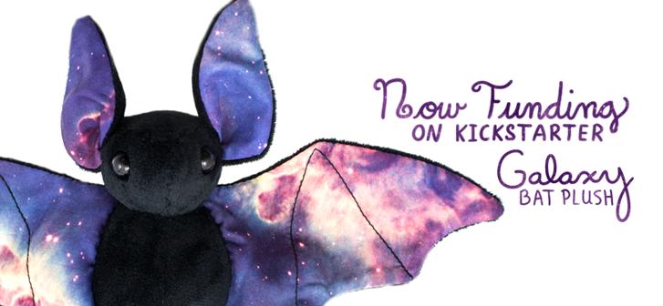 Galaxy Bats Coming to Kickstarter by BeeZee-Art