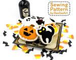 Halloween Cookie Felt Sewing Pattern
