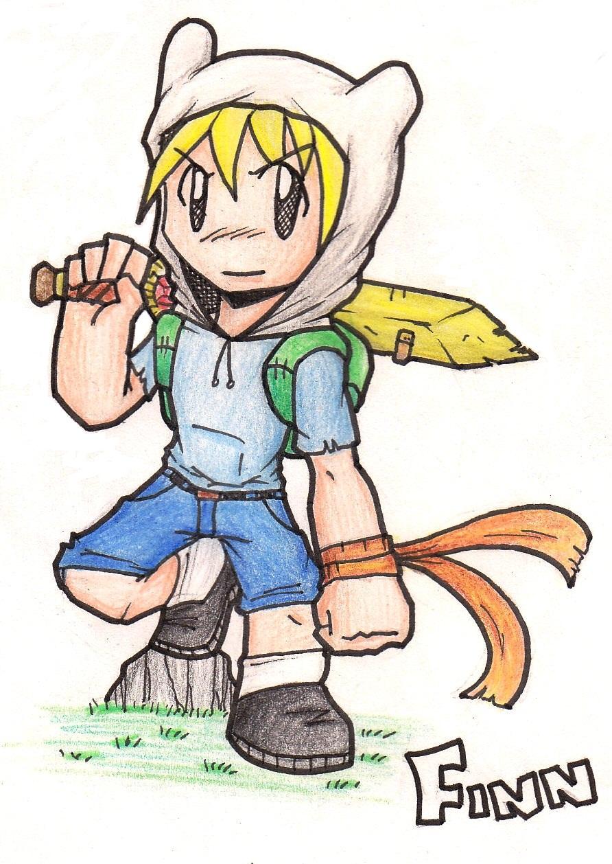 Adventure Time: Finn by Fives555 on DeviantArt