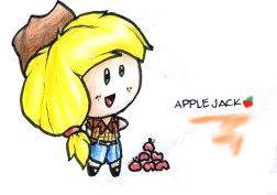 MLP HUMAN CHIBI: APPLE JACK by Fives555