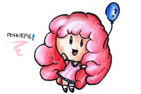 MLP HUMAN CHIBI: PINKIE PIE by Fives555