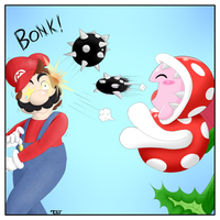 Piranha Plant Joins Smash! by The-Gamer-Within