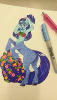 Blue Centaurette