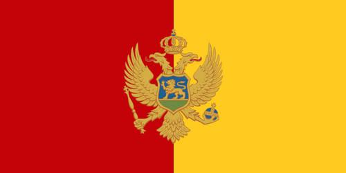 Alternate Flag of Montenegro