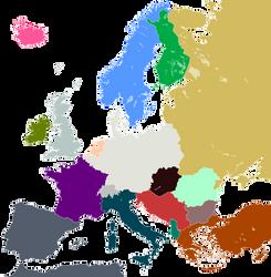 Alt Europe Map