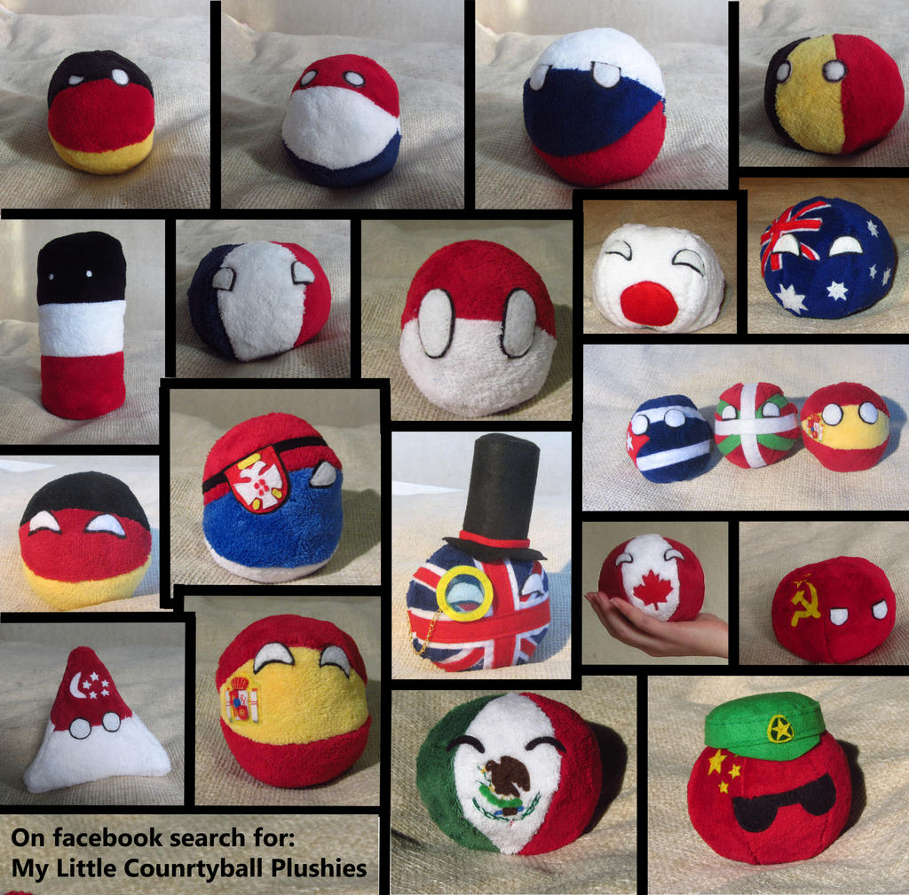 new countryball plushies ive - photo #28