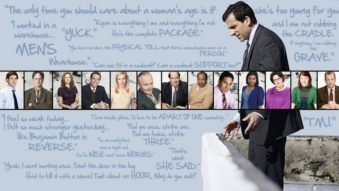 The Office Quotes Wallpaper by UFCFAN89 on DeviantArt