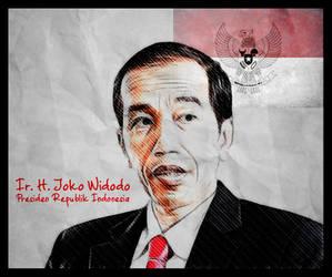 Ir. H Joko Widodo by indesignesia