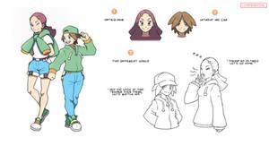 Pokemon Renaissance - Concept-Art (YandY's)