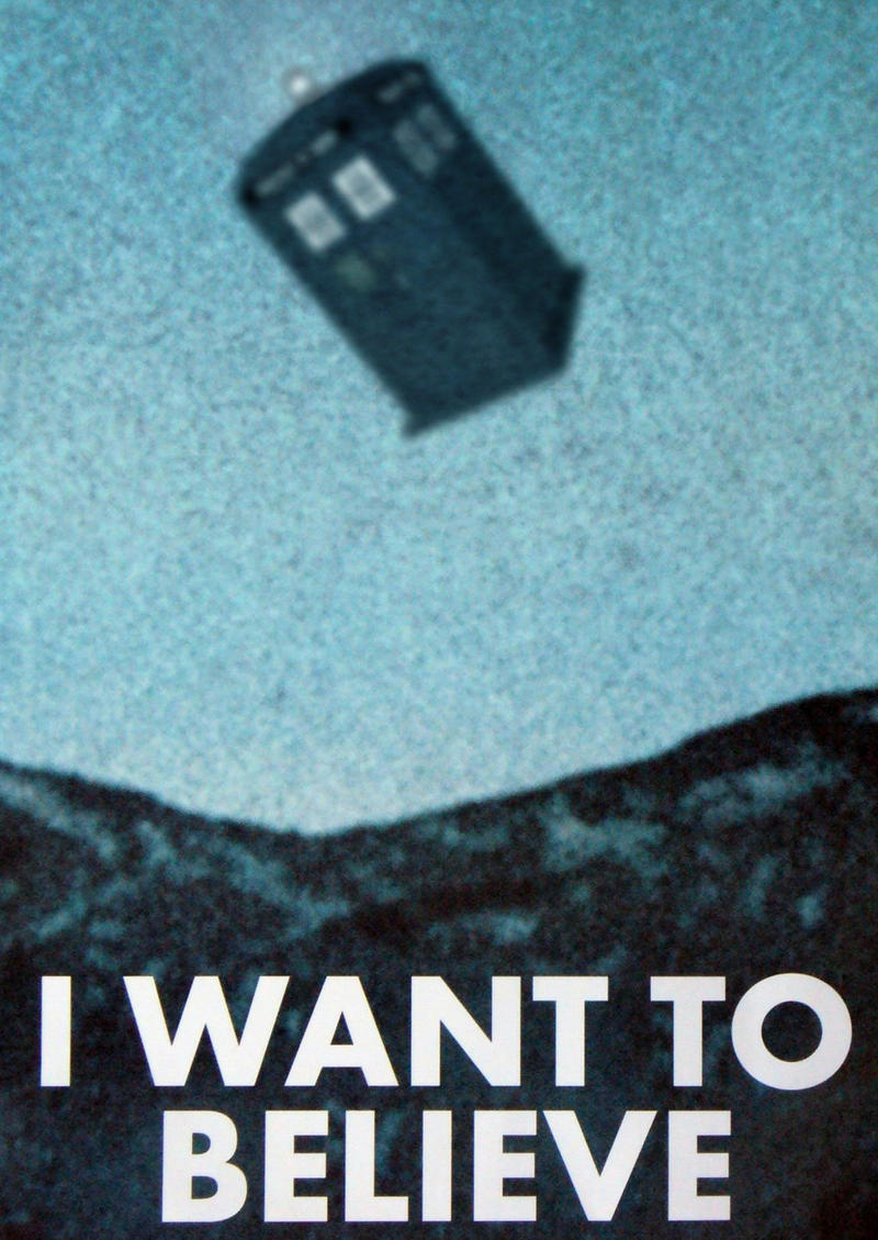 I Want To Believe By RichSC On DeviantArt