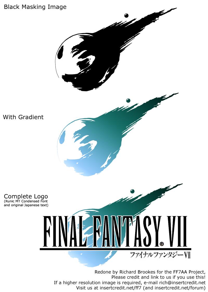 final fantasy 7 font request
