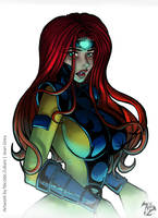 Jean Grey by LordNicomic