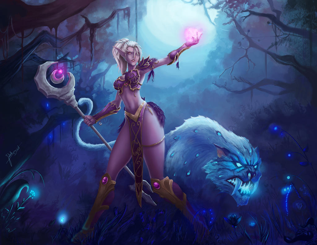 Jizzart nightelf hentia pic
