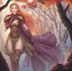 Dalish Elf Inquisitor
