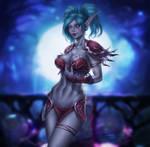 Night Elf Reina - COMISSION