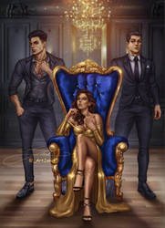 Queen of Cancio Mafia  [commission]