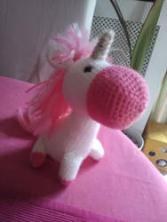 Unicorn Plush by Kakashi-et-Phoenix