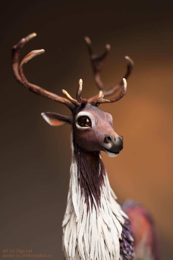 The deer by thai-binturong