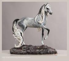 Dapple horse by thai-binturong