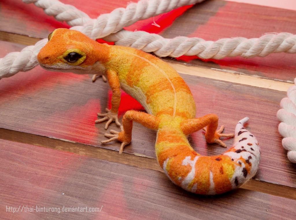 Leopard Gecko 2 by thai-binturong