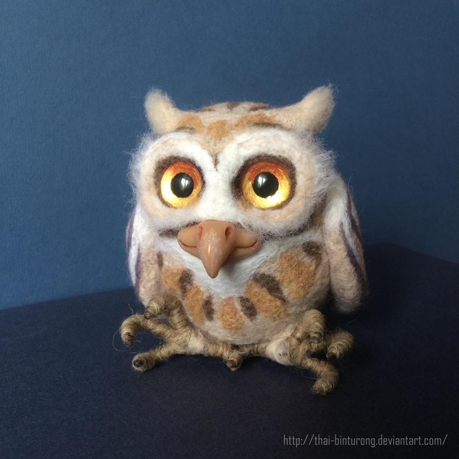 Little Owl by thai-binturong