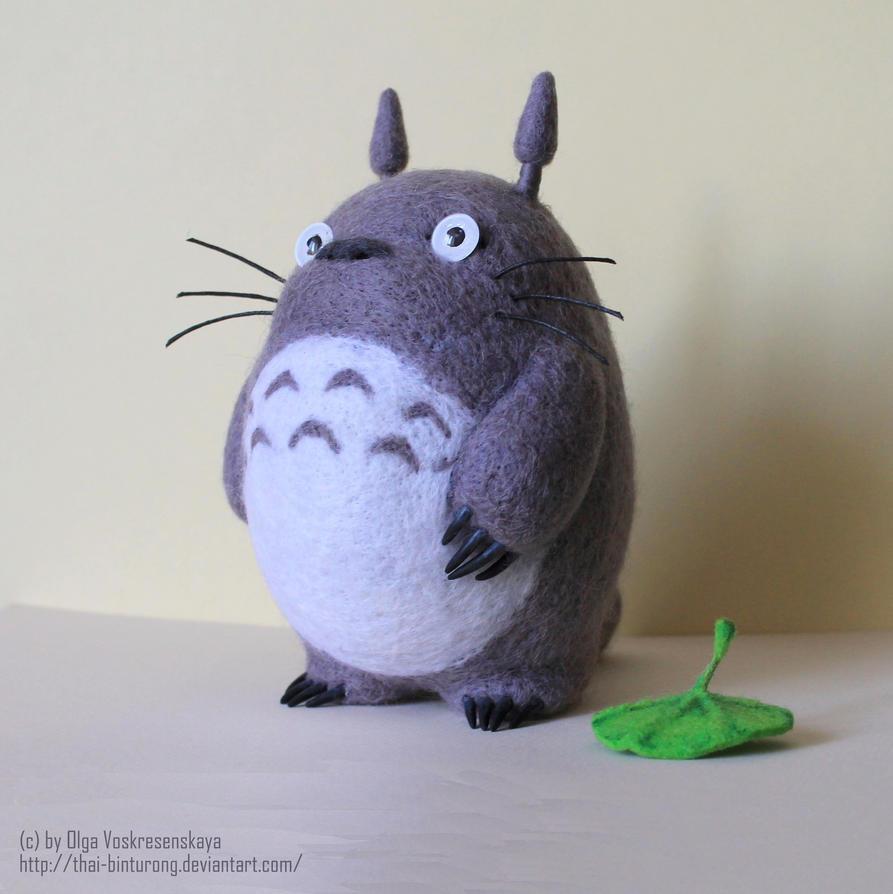 Totoro by thai-binturong