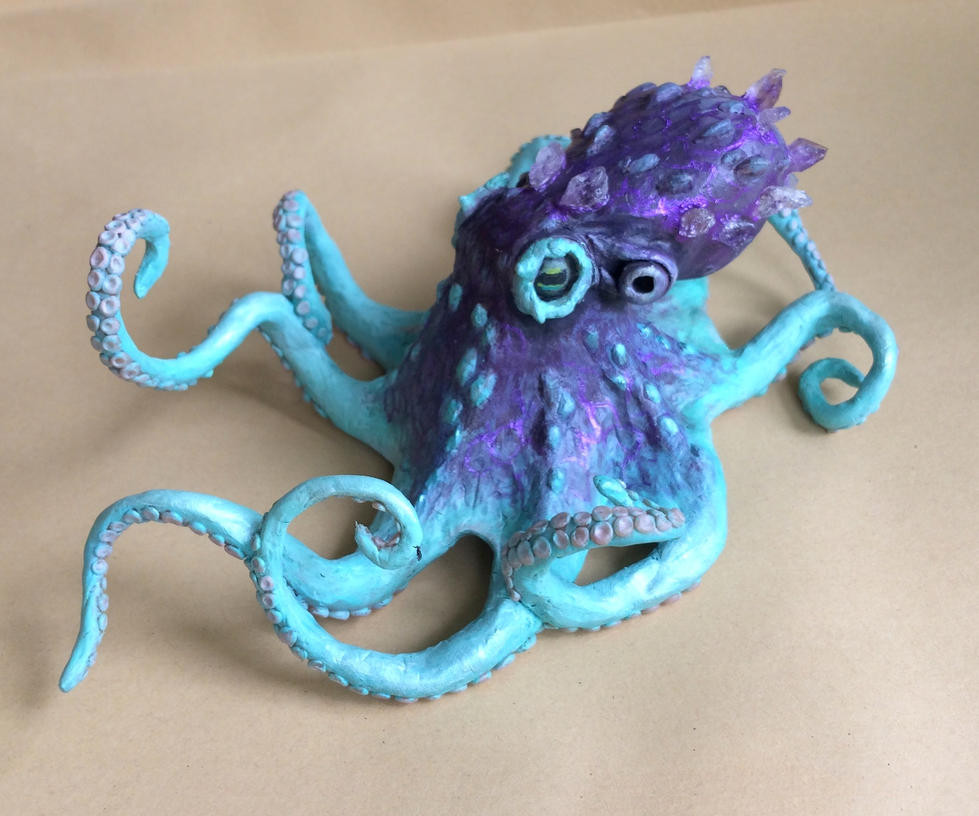 Amethyst octopus by thai-binturong