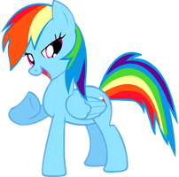Rainbow dash by pony-of-equestia