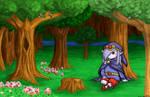 Resting in Minish Woods