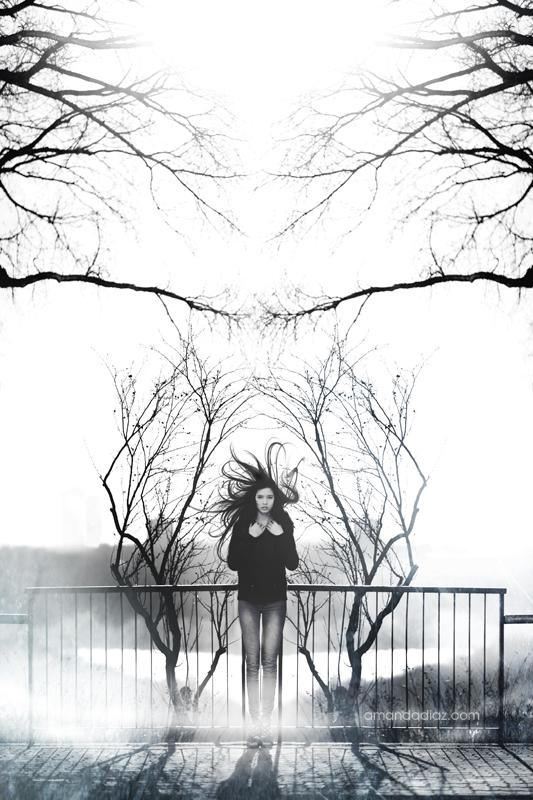 Foggy Mirrror by Amanda-Diaz