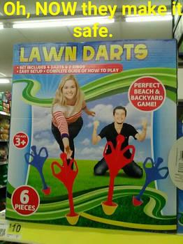 Safe Lawn Darts
