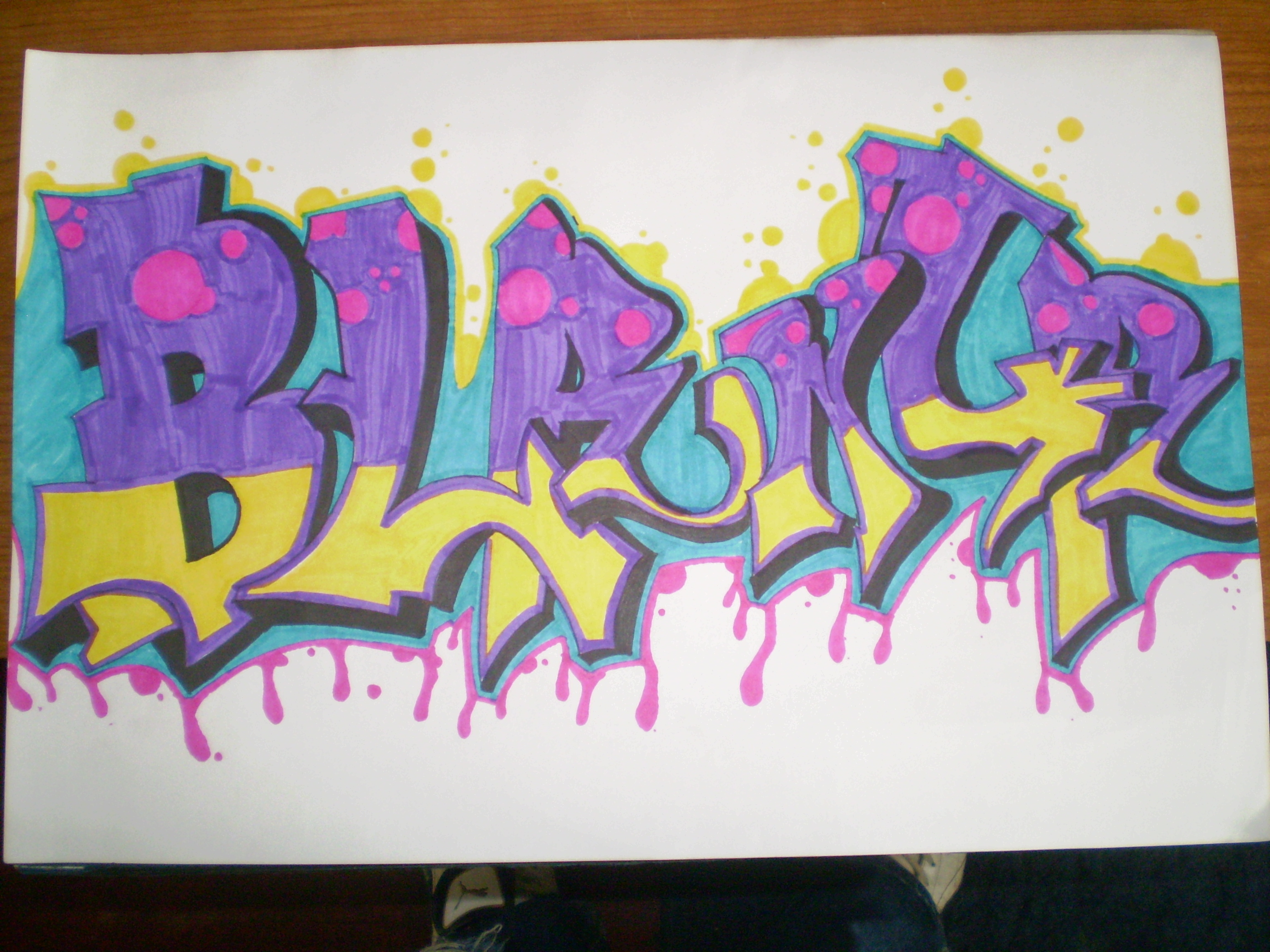 graffiti name blanca by graffart16nando on deviantART