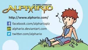 Alphario - Business Card 2013